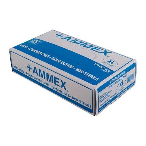 Vinyl Exam Gloves-Medium-100 per box