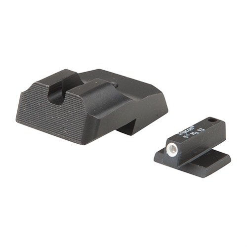 1911 Sight Set Plain Rear Tritium Front, Low Mount