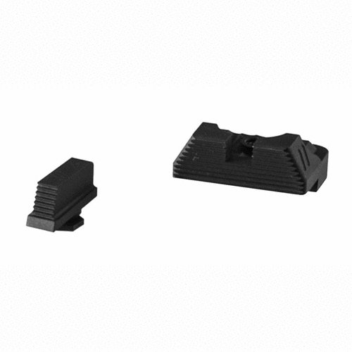 ZEV Sight Set, .215 Black Front, Combat v3 Black Rear
