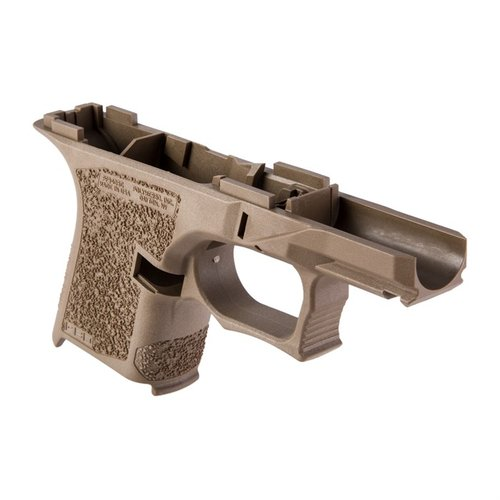 PF940SC 80% Std Texture Frame for Glock 26/27 FDE