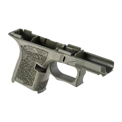 PF940SC 80% Std Texture Frame for Glock 26/27 OD Green
