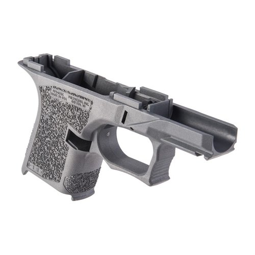 PF940SC 80% Std Texture Frame for Glock 26/27 Gray
