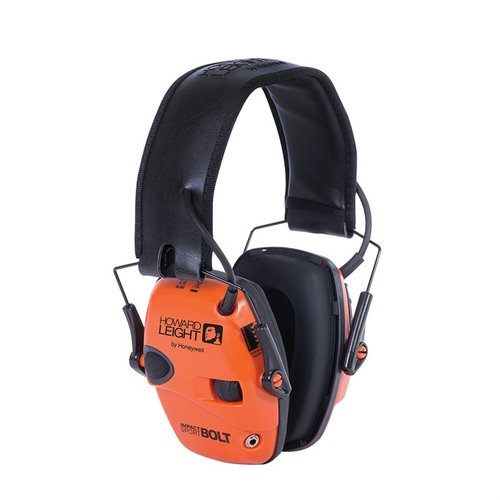 Impact Sport Bolt Electronic Earmuffs Orange