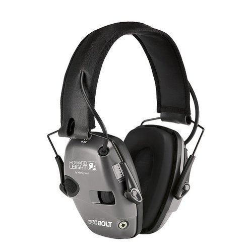 Impact Sport Bolt Electronic Earmuffs Grey