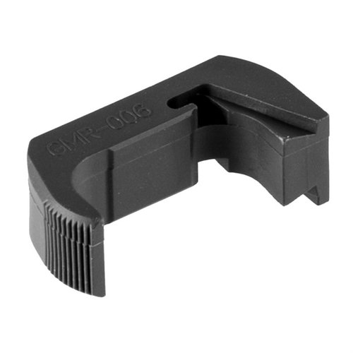 Vickers Tactical Ext Mag Release, Glock 43, Gray