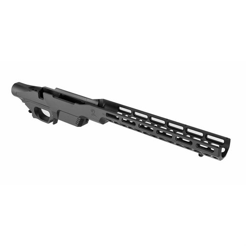 Tikka T3 (Long Magwell) Chassis Matte Black
