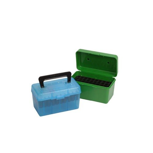 Ammo Boxes Rifle Green 22-250 Remington - 308 Winchester 50
